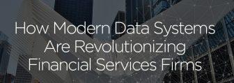 financial services modern data architecture