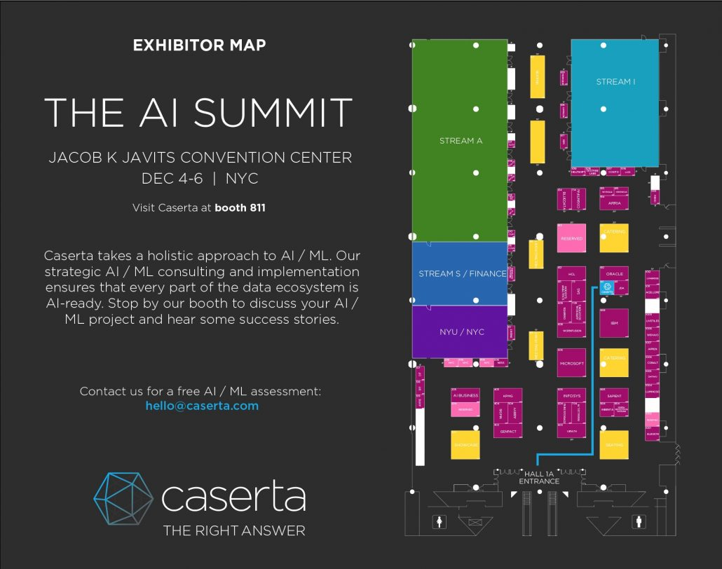 ai summit nyc exhibitor map