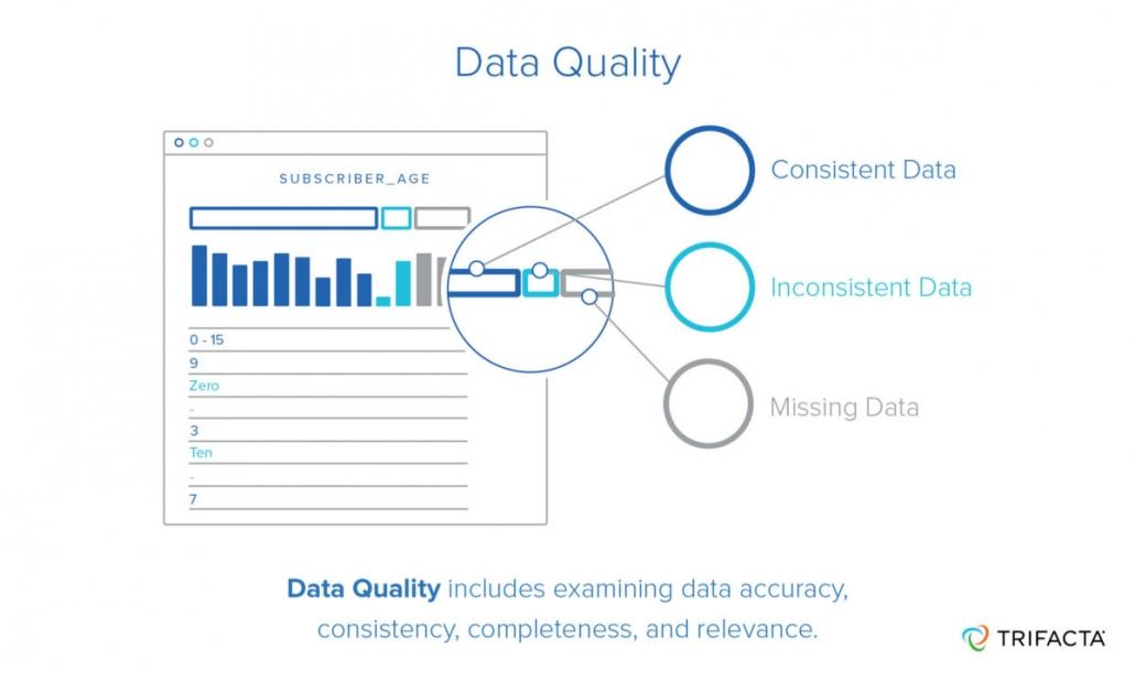 data quality image trifacta