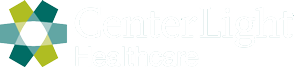 centerlight healthcare white logo