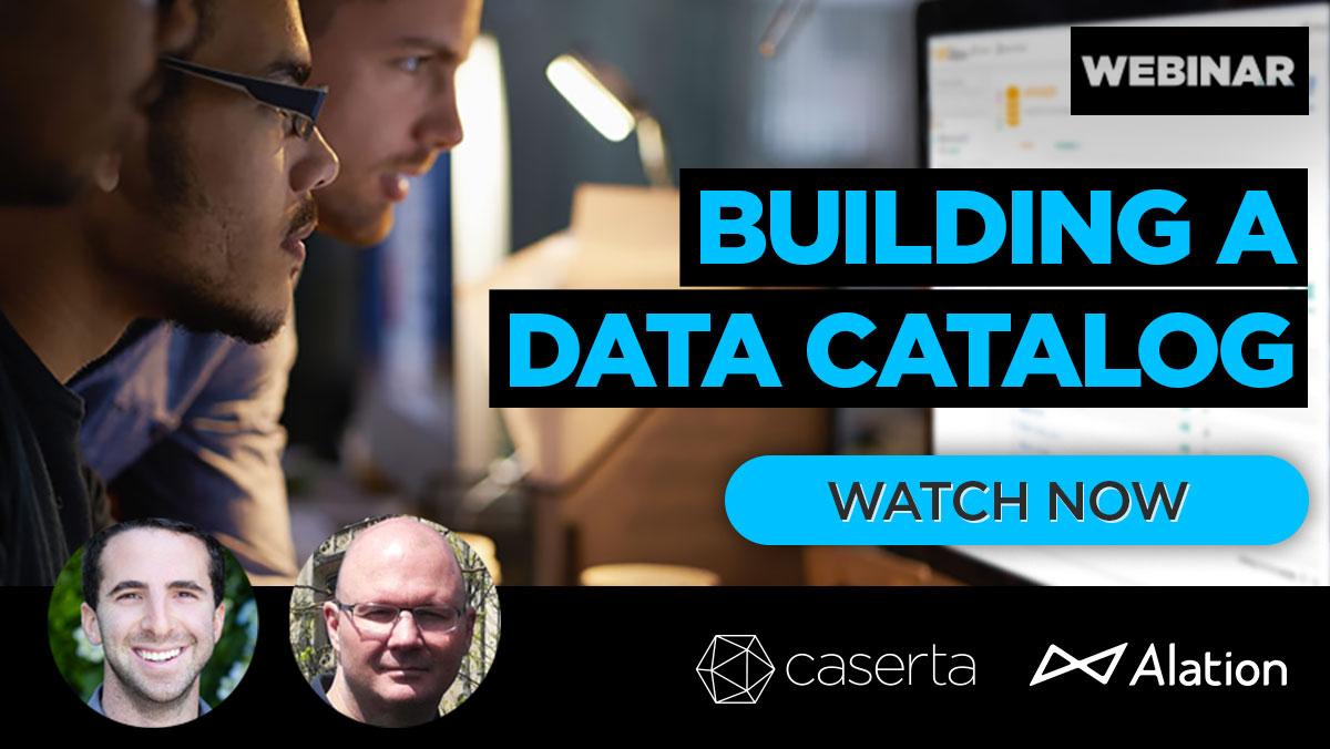 Data Catalog Webinar
