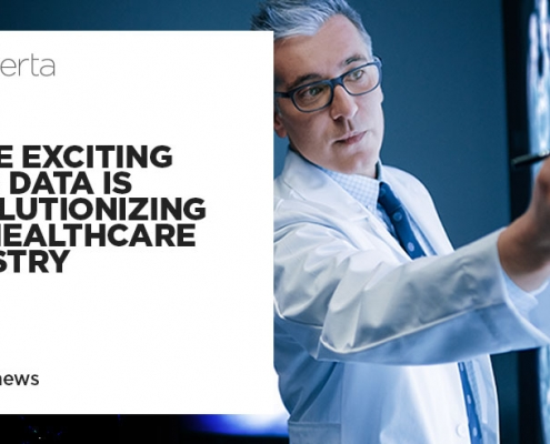 how data is revolutionizing the healthcare industry