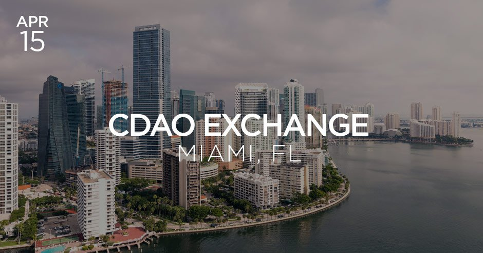cdao exchange miami april 2019