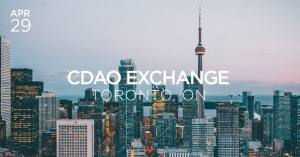 cdao exchange toronto april 2019