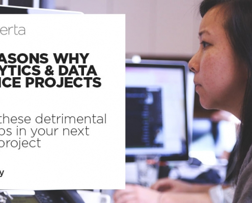 10 reasons why data and analytics projects fail