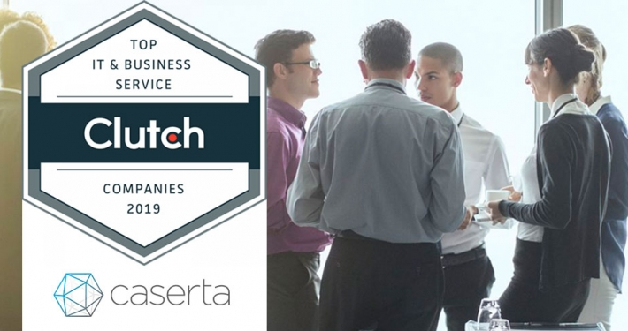caserta named leading it services firm in united states by clutch