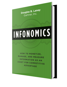 infonomics how to monetize manage and measure information as an asset book cover by doug laney