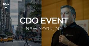 cdo event nyc featuring joe caserta