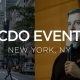 cdo event nyc featuring joe caserta