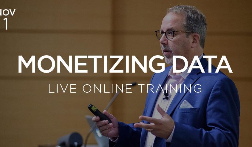 monetizing data live online training with doug laney