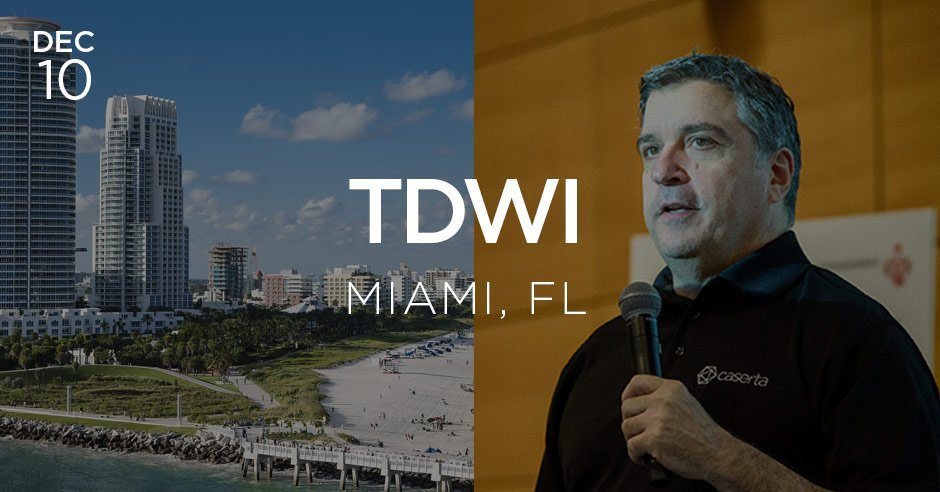 tdwi miami featuring joe caserta