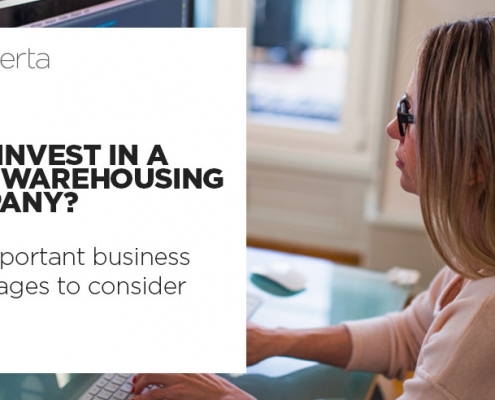 why invest in a data warehousing company like caserta