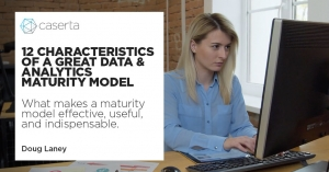 characteristics of a great data and analytics maturity model