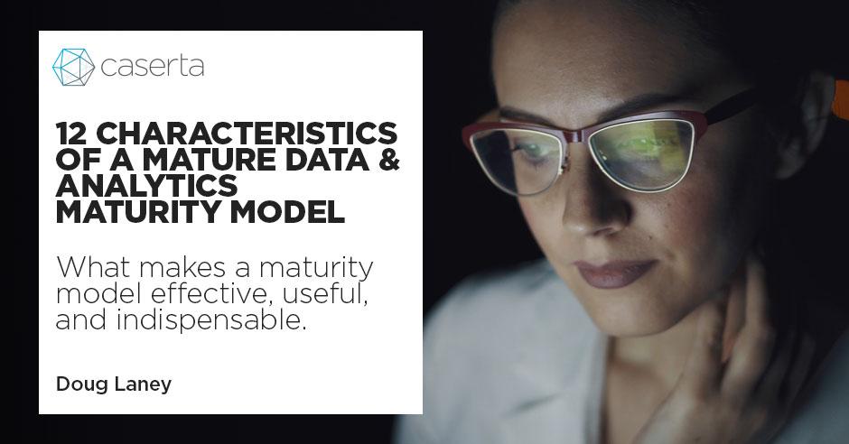 data analytics maturity model