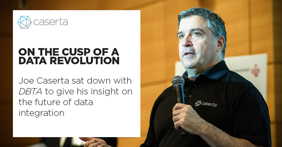 joe caserta dbta interview on the cusp of a data revolution