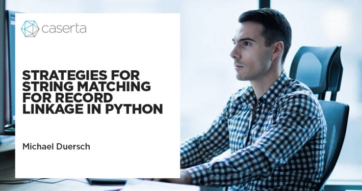 strategies for string matching for record linkage in python