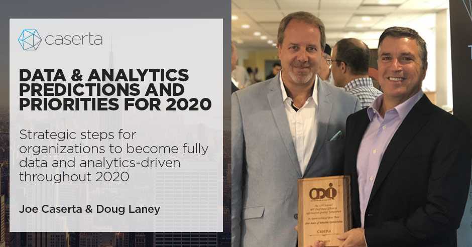 joe caserta doug laney data and analytics predictions for 2020