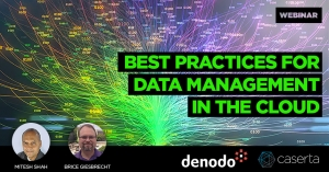 best practices for data management in the cloud