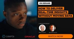 How to deliver real time insights without moving data