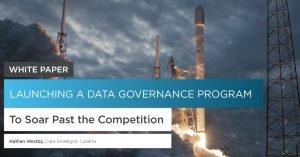 Launching a Data Governance Program